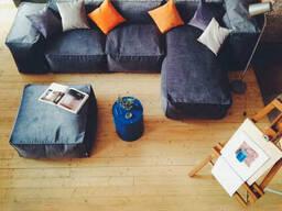 Купити безкаркасний модульний диван блоковий в Україні