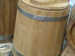 Купить деревянную бочку кадка