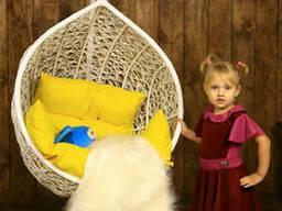 Купити дитяче крісло кокон куля підвісний