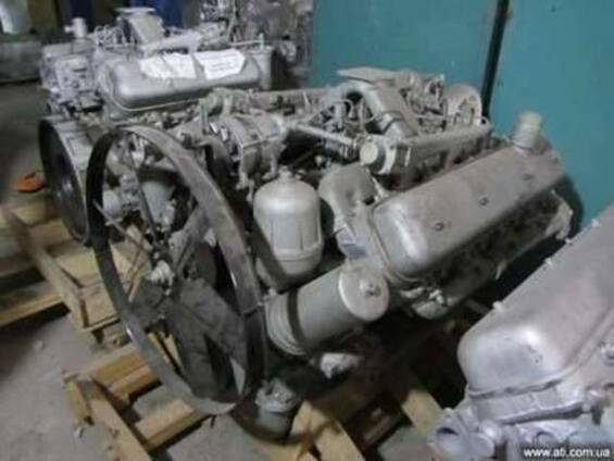 Двигатель ЯМЗ .