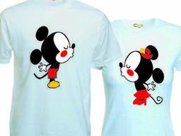 Купить футболку для влюбленных Харьков