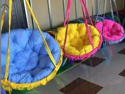 Купити крісло гамак кругле гніздо з подушкою