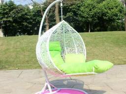 Купити крісло кокон з підставкою для ніг недорого