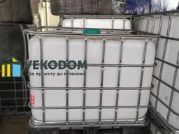 Купить кубовую бочку еврокуб б у 1000 новый литров Киев