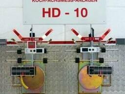 Купить лазерный стенд развал-схождения KOCH HD-10 Easy Touch