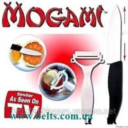 Украина (Киев) . Наборы ножей для кухни из керамики Mogami Ec