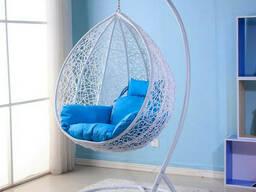 Купити недорого підвісне крісло кокон з ротанга в Харкові