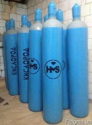 Купить новый баллон кислородный 40 литров. Pn 200 Бар. ГОСТ
