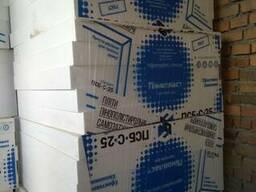 Купить Пенопласт ПСБ-С-25 15, 5 кг/м. куб. 10 см (1х1 м)ГОСТ