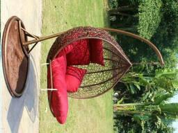 Купити підвісний лежак з ротанга