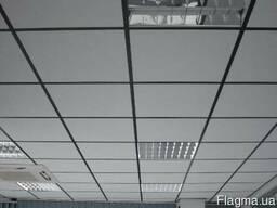 Купить подвесной потолок. Плита потолочная 600х600х7 Laguna.