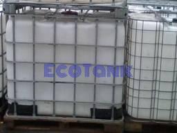 Купить продам кубовую емкость бак воды бу цена в обрешетке