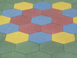 Купить резиновую плитку, покрытие для игровых площадок, дороже