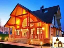 Купить сруб рубленного вручную деревянного дома