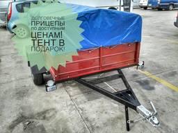 Легковой одноосный прицеп Днепр-230х130 с доставкой!