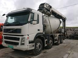 Купити бетон з доставкою в місті Тернопіль, послуги міксера