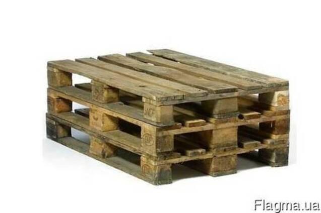Куплю б/у деревянные поддоны 1200*800