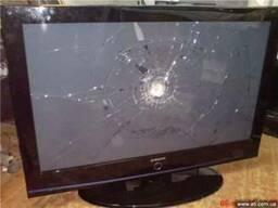 Куплю битый ЖК телевизор плазму нерабочую на запчасти