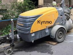Растворонасос пневмонагнетатель Машина для стяжки бетононасо