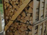 Куплю - Дрова колотые дуб ясень естественной влажности - photo 1