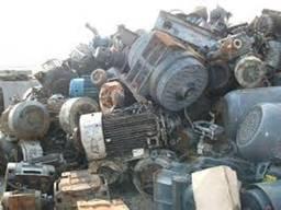 Куплю электродвигатели, компрессоры на разборку Киев