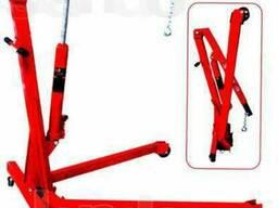 Куплю.Кран подкатной гаражный гидравлический для снятия двиг