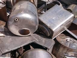 Покупаем б/у металлоконструкции с нержавеющей стали и лом