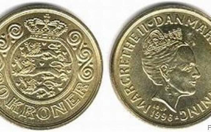 Куплю монеты датские кроны