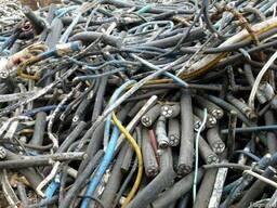 Куплю отходы алюминиевого кабеля.