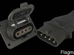 Куплю - Вилка кабельная ШК 4х60, Розетка кабельная ШЩ 4х60
