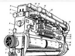 Куплю запасти Д-50. ПД1М, 1-ПД4А новые и б/у. Регулятор