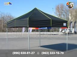 Купол (крыша) 3х3 Черный на раздвижной шатер - тенты пошив продажа