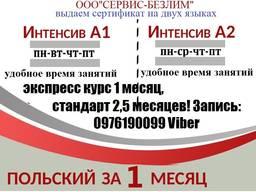 Изучение польского языка в Кривом Роге и онлайн по Украине сертификат