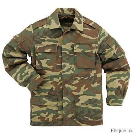 Куртка д/с камуфлированная, рабочая, военная, спецодежда