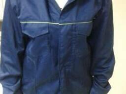 Костюм рабочий саржа, куртка с полукомбинезоном