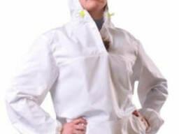 Куртка из болоньи женская, белая