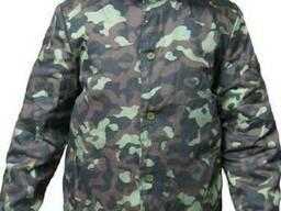 Куртка ватная камуфлированная , спецодежда