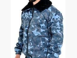Куртка камуфлированная утепленная для охранных структур