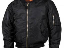 Куртка бомбер MFH чёрная