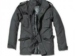 Куртка М65 Classic Brandit Vintage с подкладкой черная