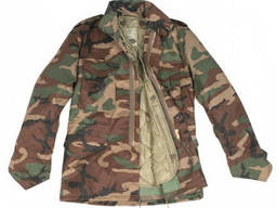 Куртка М65 Mil-Tec с подстежкой Woodland