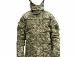 Куртка на овчине новый украинский камуфляж