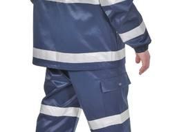 Куртка підвищеної видимості, 50% ХБ, 50% ПЕ, пл. 260 г/м². Просочення ВО.