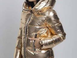 Куртка- пуховик женский irvik y33181 золото