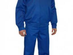 Куртка рабочая, д\с 'Конструктор', цвет василек, грета.