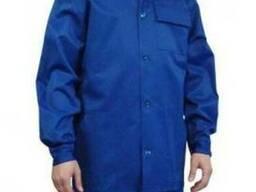 Куртка рабочая летняя василькового цвета Украинская гретта