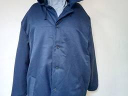Ватная куртка с капюшоном рабочая утепленная спецодежда Эконом