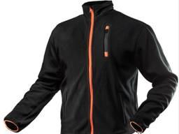 Куртка рабочая NEO TOOLS 81 500 из флиса . Цвет черно-оранжевый цвет.