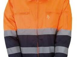 Куртка рабочая светоотражающая, куртка дорожника