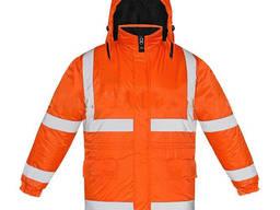 Куртка рабочая утепленная прорезиненная Моряк